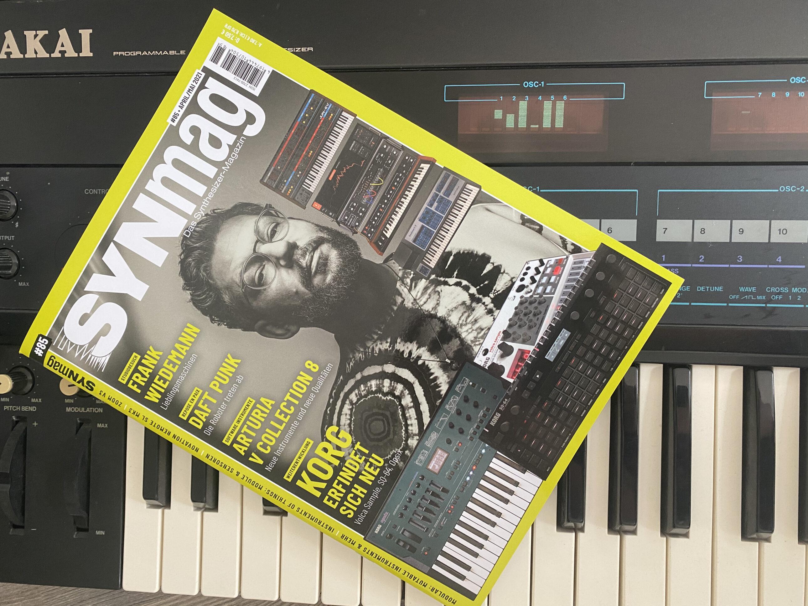 SynMag 85 Das Synthesizer-Magazin