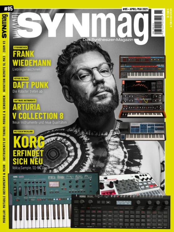 SynMag 85 - Das Synthesizer-Magazin - NeuErfindung Korg, Arturia, GEMA, Frank Wiedemann, Daft Punk