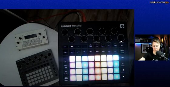 SequencerTalk 86 Novation Curcuit Tracks