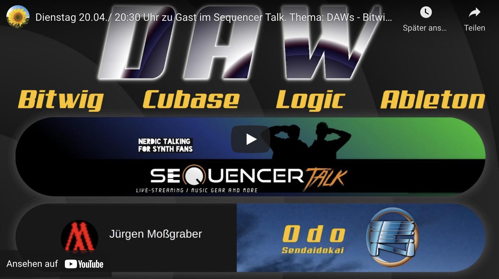 SequencerTalk 88 DAW