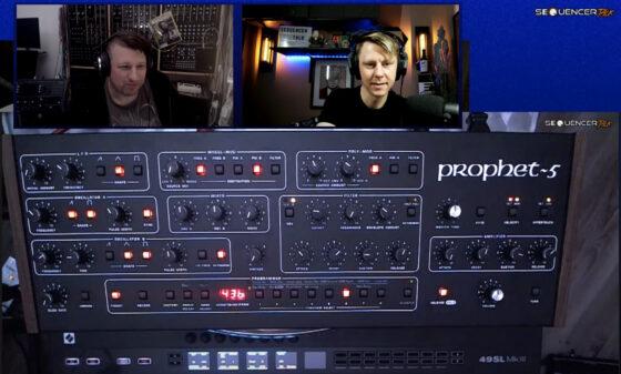 st87 Sequencertalk 87 Prophet 5