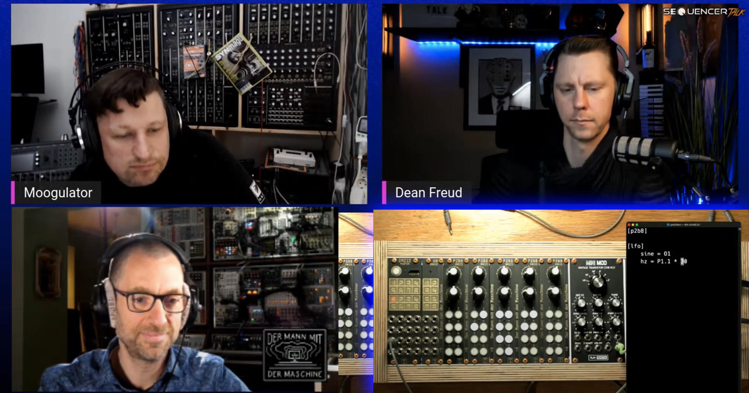Sequencertalk 89 - Mathias - Droid / Der Mann mit der Maschine