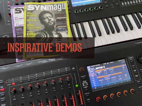 Coole INSPIRATIVE Synthesizer Demos Symbolbild