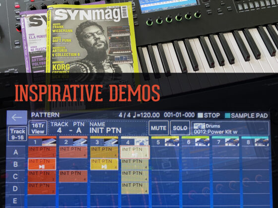 Inspirative Synthesizer Demos Symbolbild