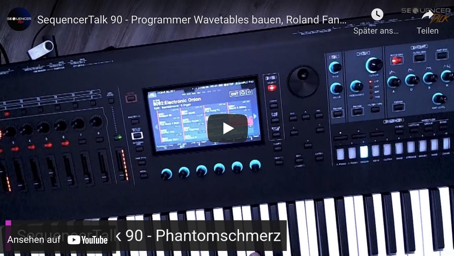 SequencerTalk 90 Fantom Programmer