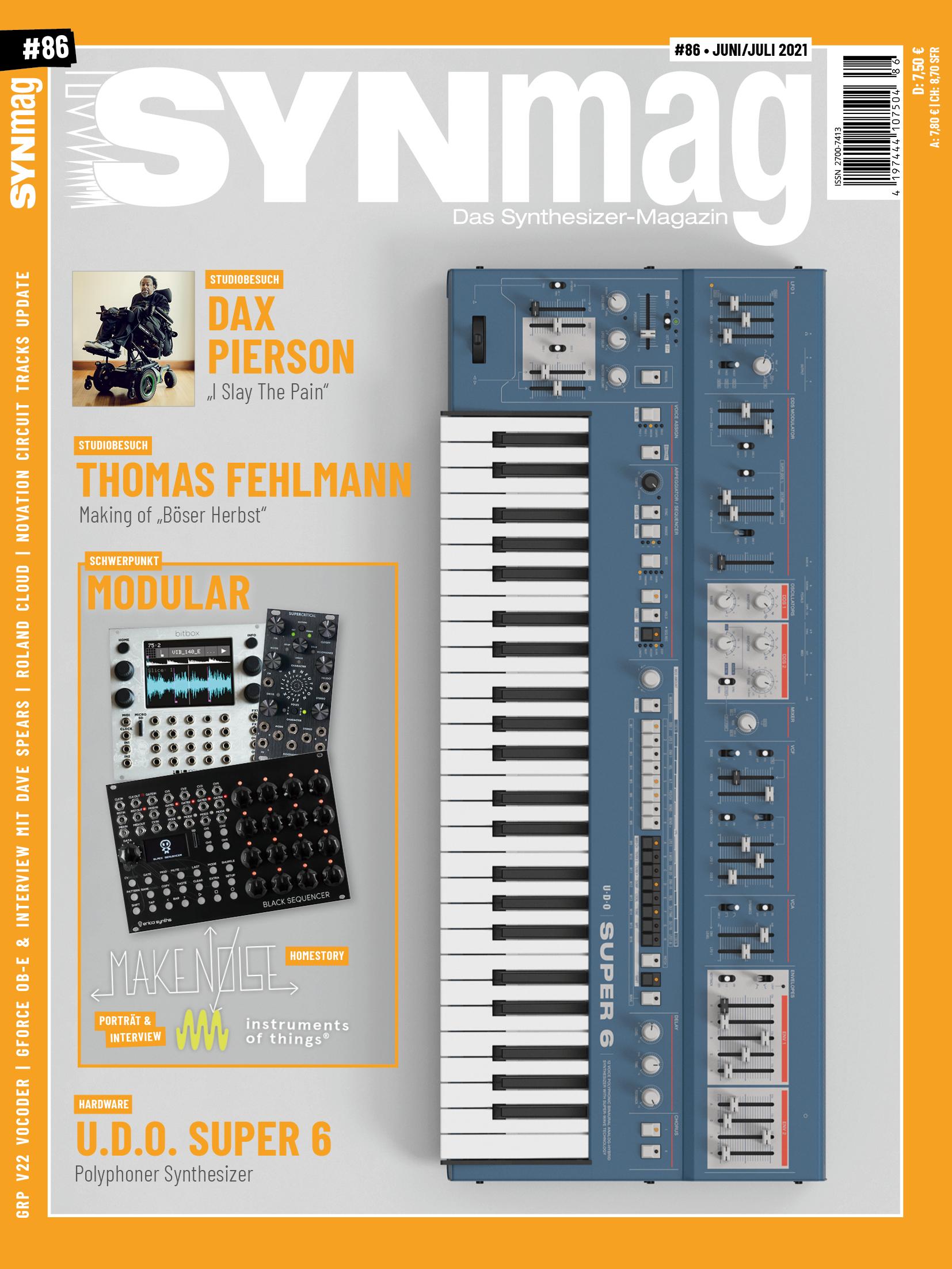 SynMag 86 - Das Synthesizer-Magazin