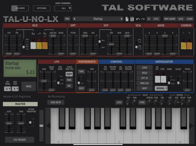 TAL U-No-LX Juno