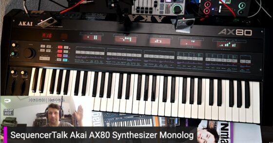 SequencerTalk Akai AX80 Synthesizer