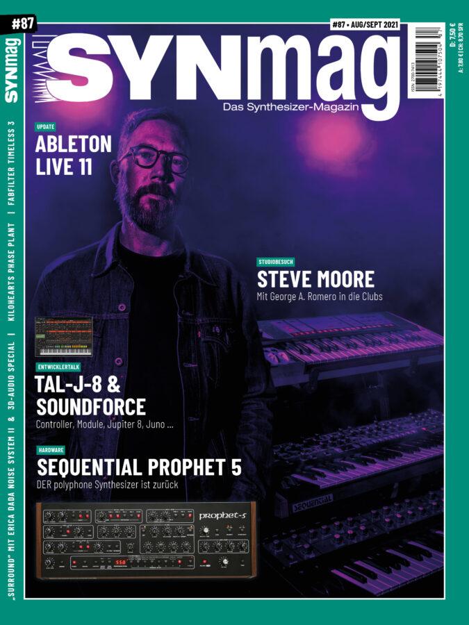 SynMag 87 - Synthesizer-Magazin - Prophet 5, Surround, TAL-J-8, Modal Cobalt 8M…