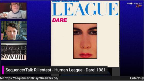 SequencerTalk MusikCheck - Human League Dare 1981