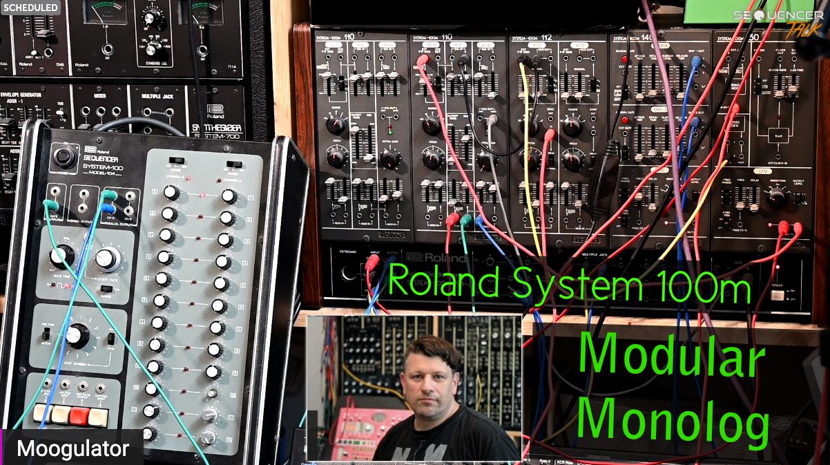 SequencerTalk Roland System 100m