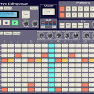 Free iPad Drummachine S4 Rhythm Composer