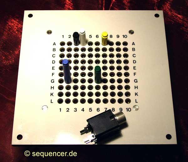 ghielmetti modular synthesizer matrix