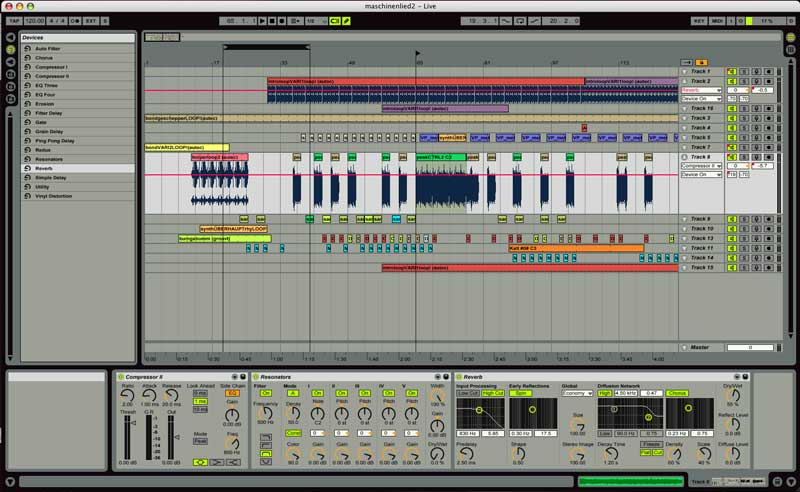 Ableton Live synthesizer