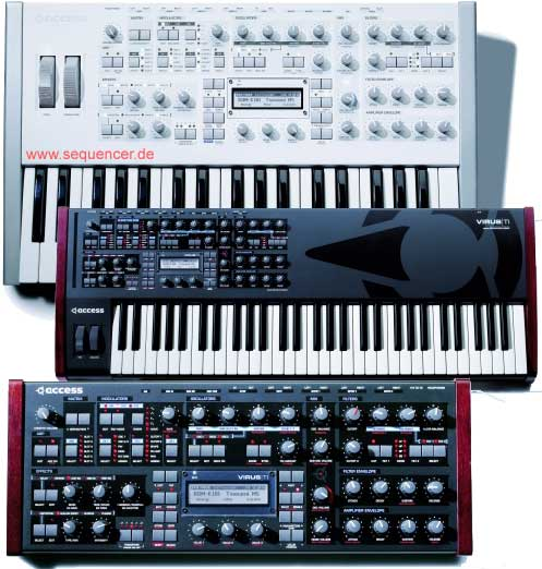 Access Virus TI synthesizer series