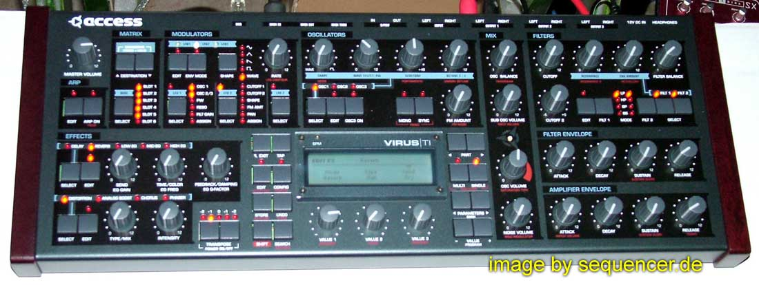 Access VirusTI Polar synthesizer