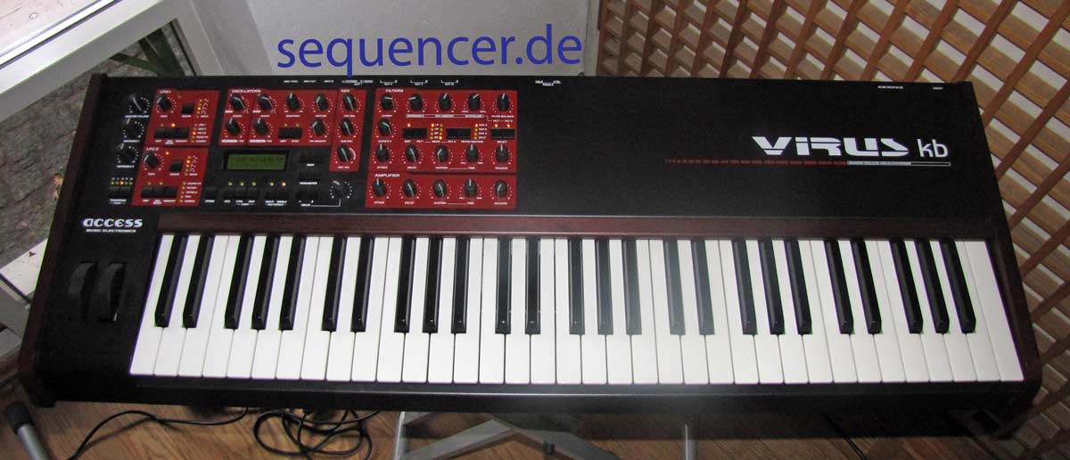 Access VirusKB synthesizer