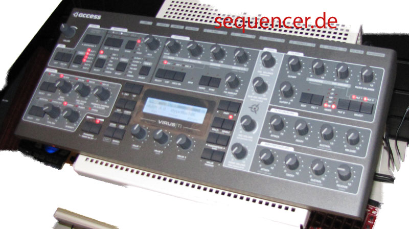 Virus TI Access Virus TI Desktop synthesizer