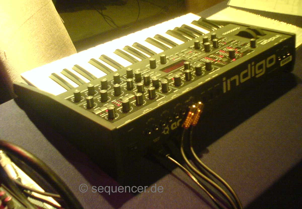 Access Virus C, Indigo 2, KC, Redback synthesizer