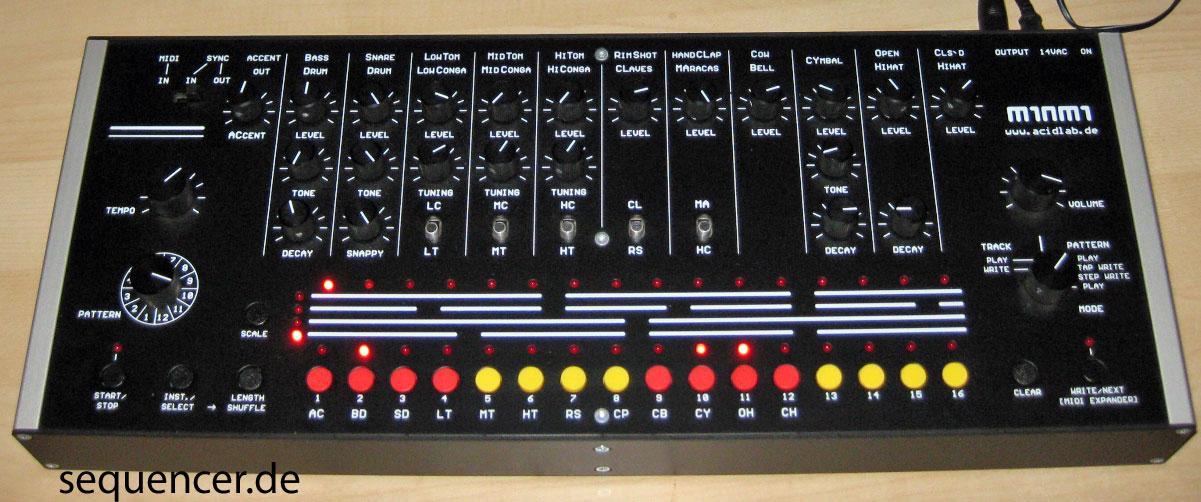 Acidlab Miami synthesizer