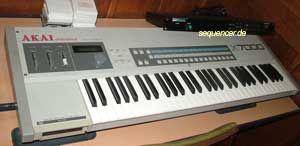 Akai S700, X7000, X3700 synthesizer
