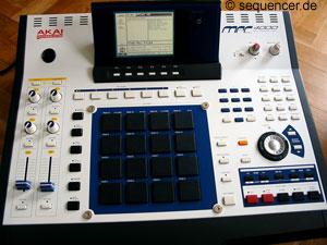 Akai MPC-4000 Akai MPC-4000 synthesizer