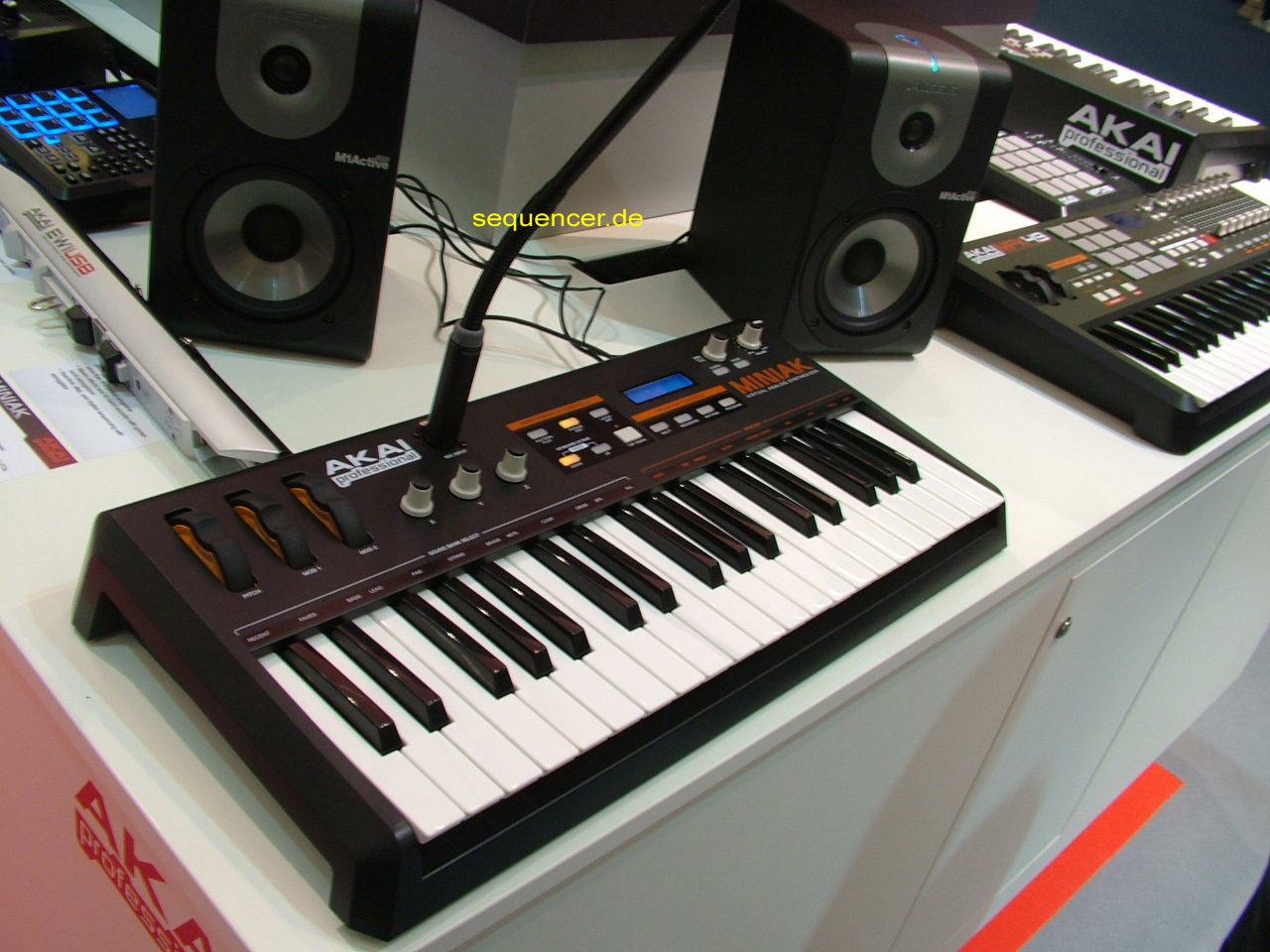 Akai Miniak synthesizer