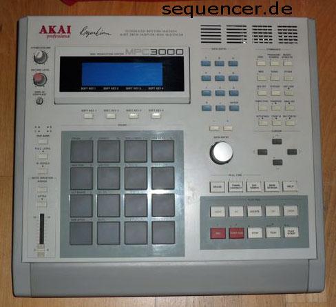 Akai MPC3000 synthesizer