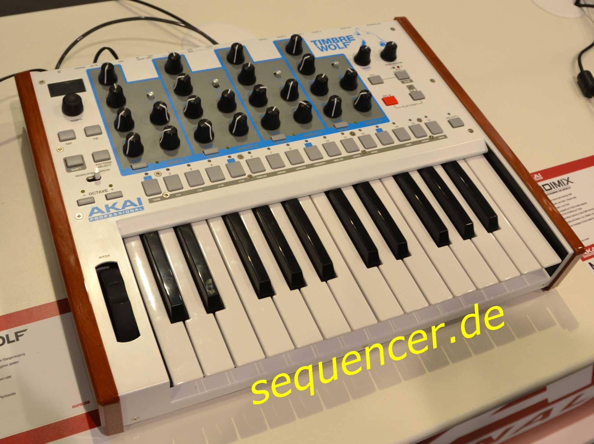 Akai Timbre Wolf synthesizer