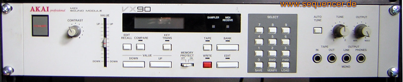 Akai AX73, VX90 synthesizer
