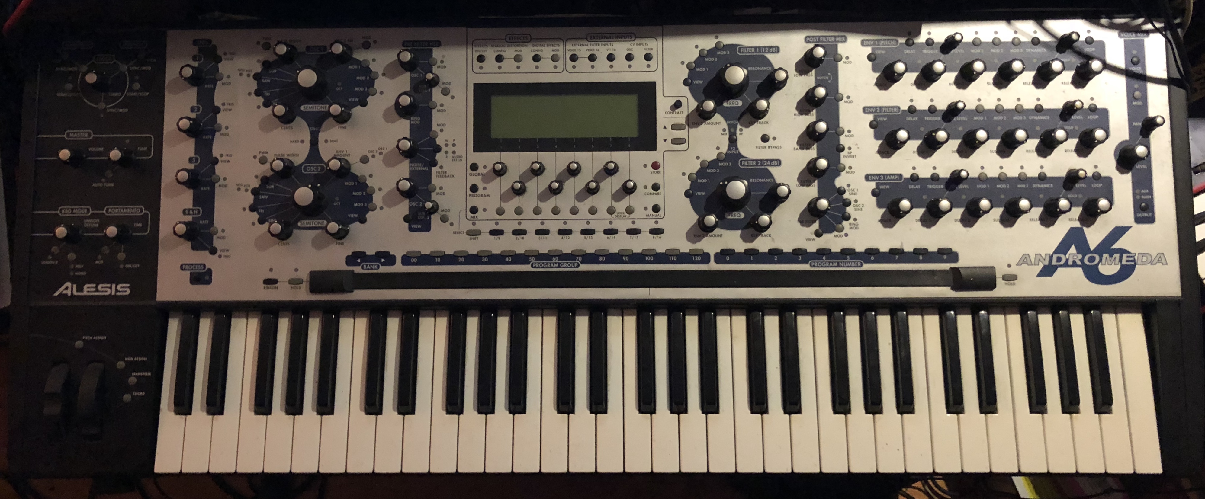 Alesis AndromedaA6 synthesizer