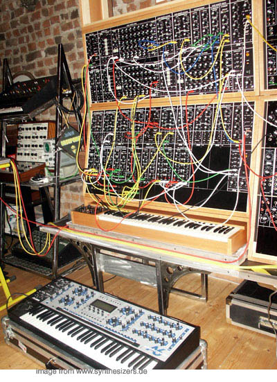 A6 vs. Moog Modular compared Andromeda + moog synthesizer