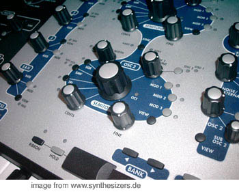 A6 a6 andromeda synthesizer synthesizer