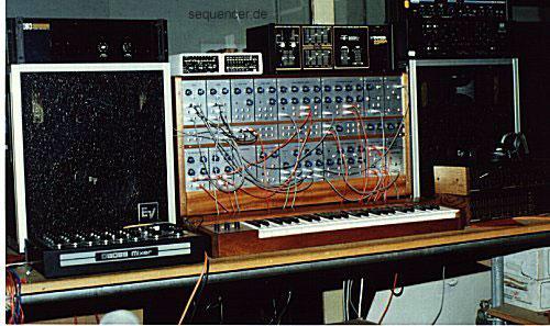 Baumann Axiom Modular Synthesizer BME Axiom Modular Synthesizer synthesizer