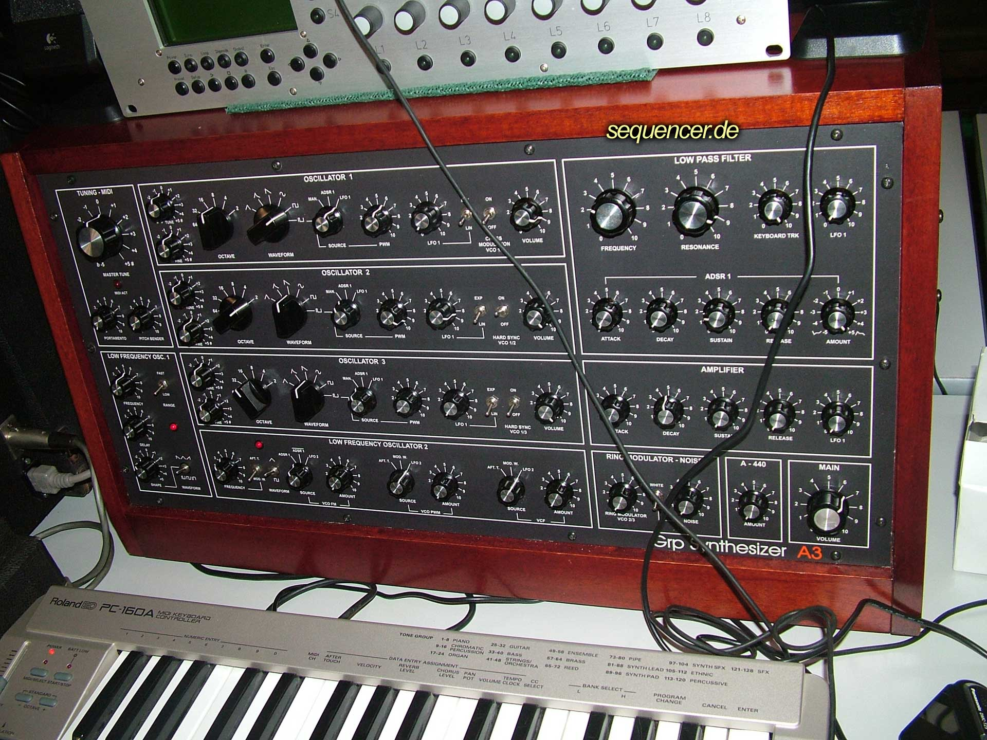 GRP A3 synthesizer