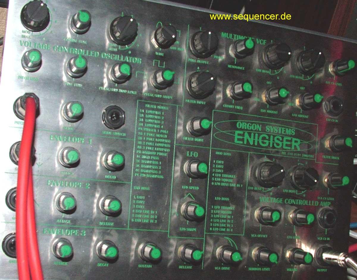 Orgon Enigiser Enigiser synthesizer