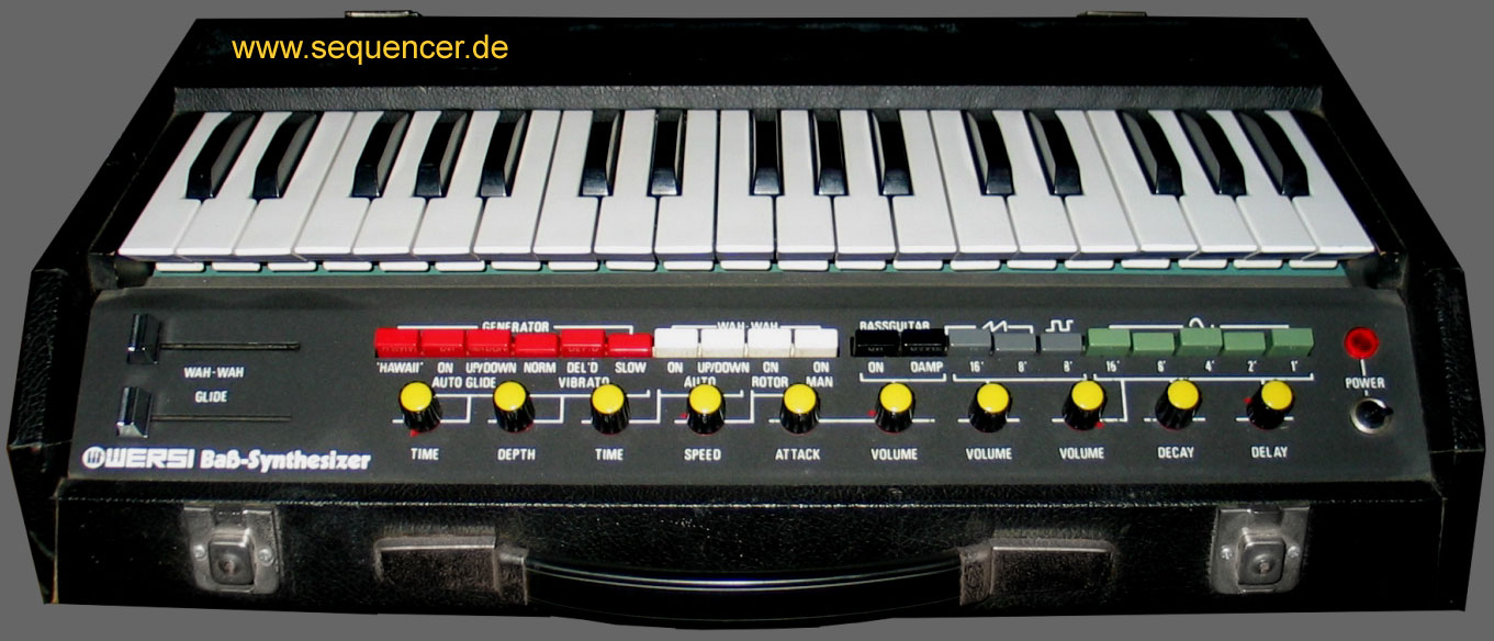 Wersi Bass Synthesizer AP6 synthesizer