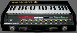 synthesizer wersi bass ap6