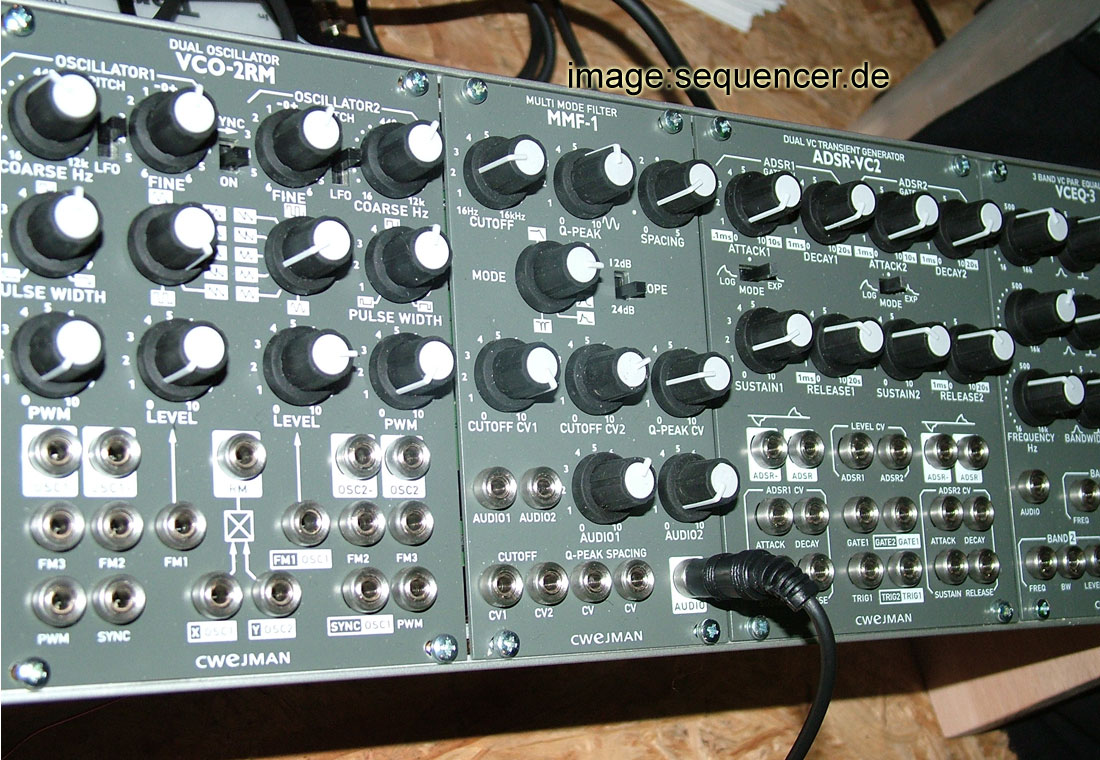 cwejman modular synthesizer