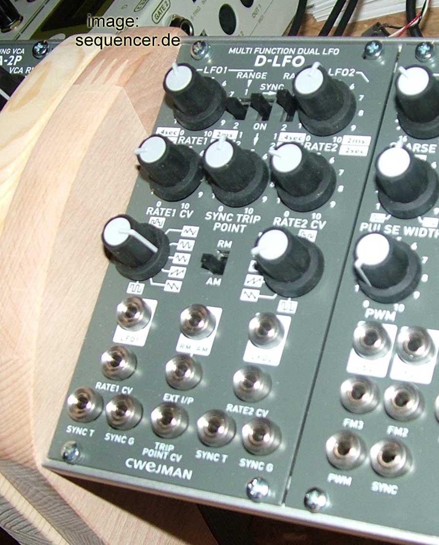 cwejman modular synthesizer