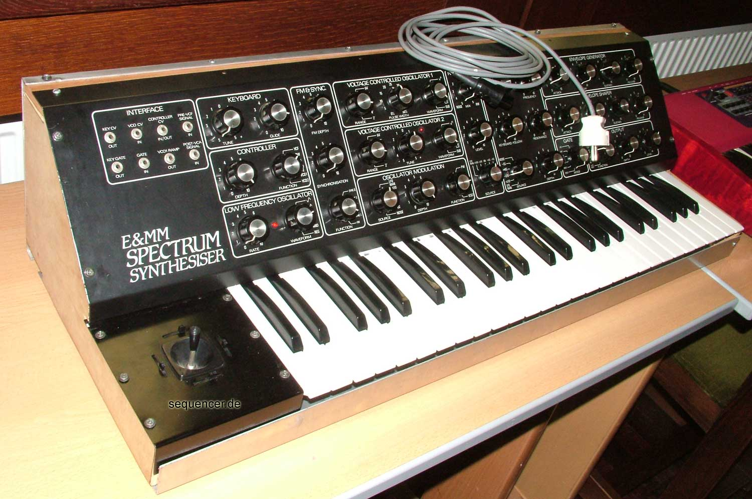 E and MM Spectrum Synthesizer synthesizer