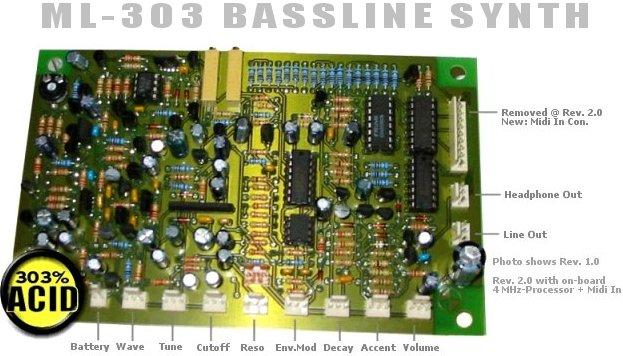 Acidcode ML303 Acidcode ML303 synthesizer
