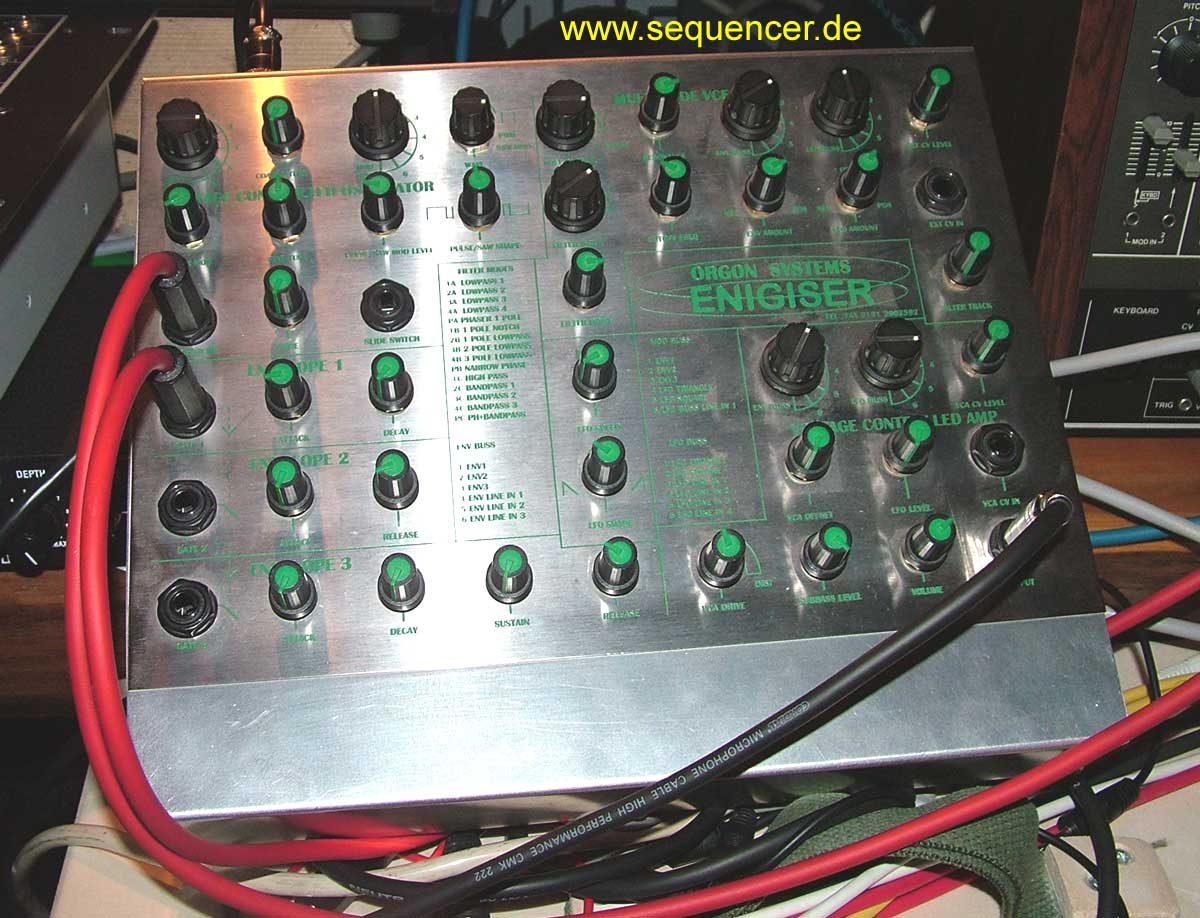 Orgon Enigiser synthesizer