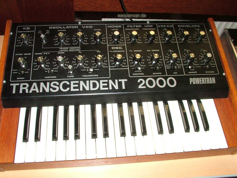 Powertran Transcendent 2000 synthesizer