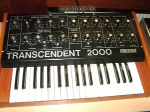 Powertran Transcendent2000 synthesizer