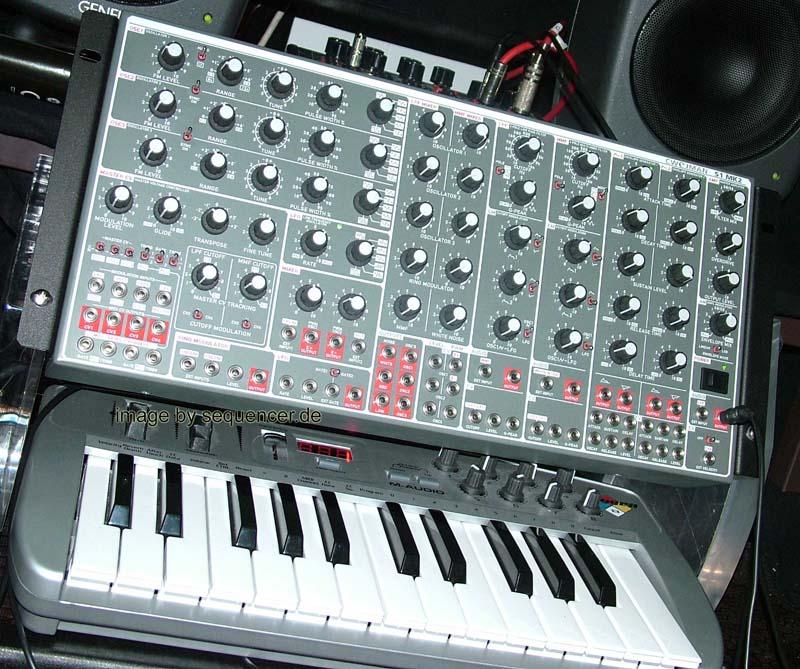 Cwejman S1 synthesizer