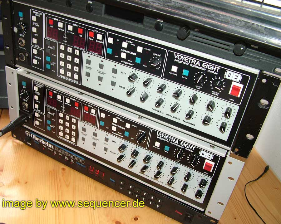 Octave Voyetra Eight synthesizer