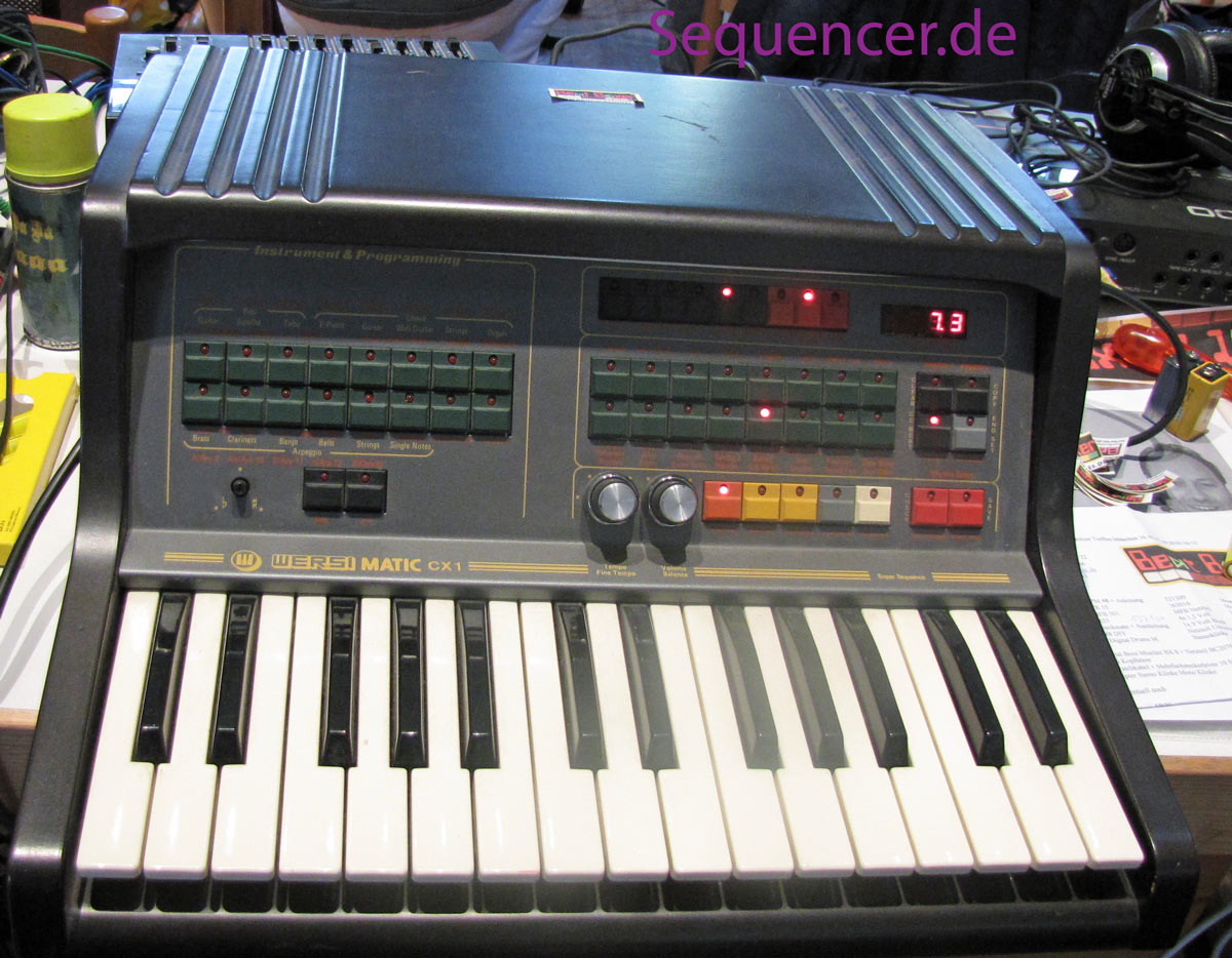 Wersi Wersimatic , CX1, CX2 synthesizer