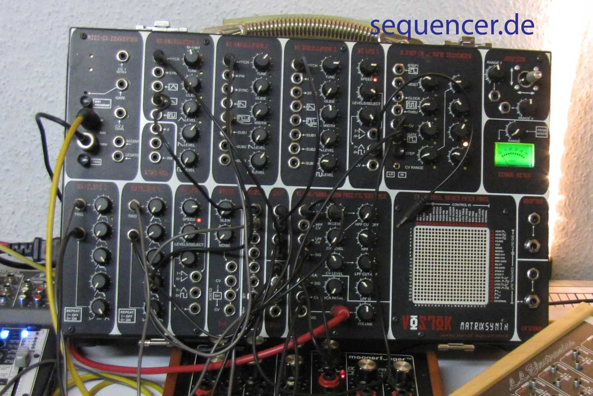 Analogue Solutions Vostok Mk2 Vostok Mark 2 synthesizer