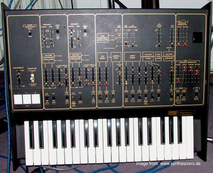 ARP ARP Odyssey synthesizer
